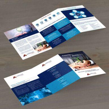 Brochure 3 ante formato chiuso A4 Aditinet