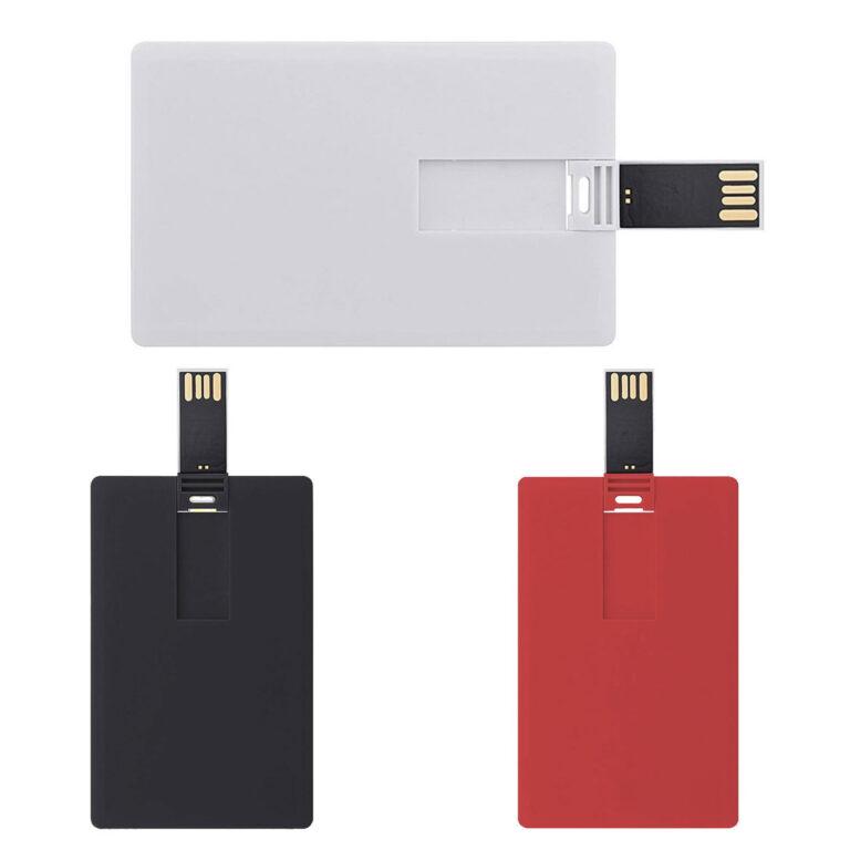 Chiavetta USB pen-drive a carta di credito