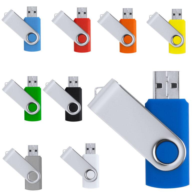 Chiavetta USB pen-drive con scocca in metallo