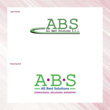 Restyling marchio ABS, società di consulenza