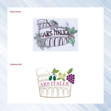 Ottimizzazione marchio Ars Italiae, distributrice all'estero di prodotti enograstronomici italiani