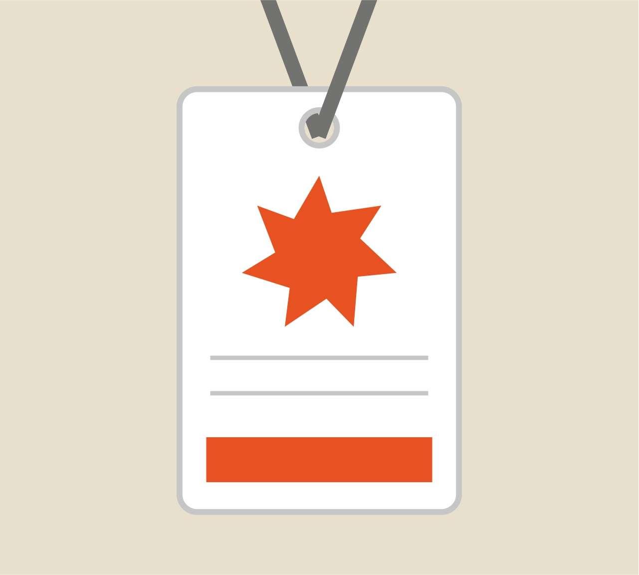 Realizzazione grafica e stampa di badge per eventi e fiere
