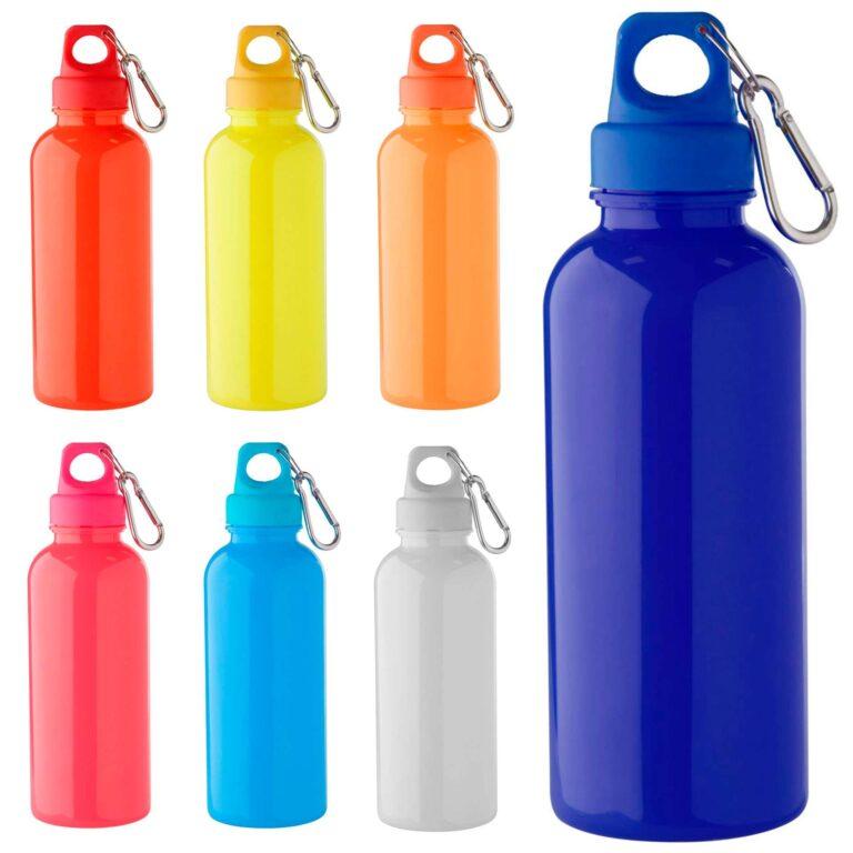 Borraccia sportiva in plastica colorata
