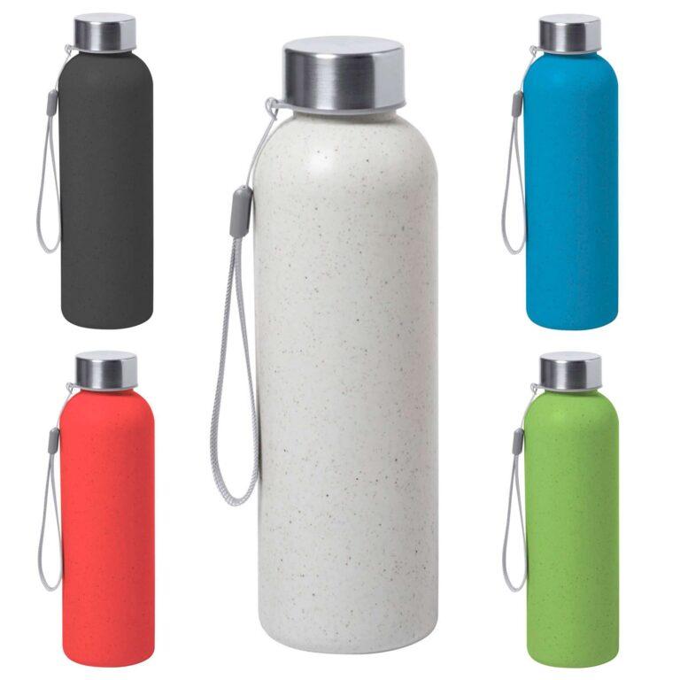 Borraccia sportiva in plastica biodegradabile