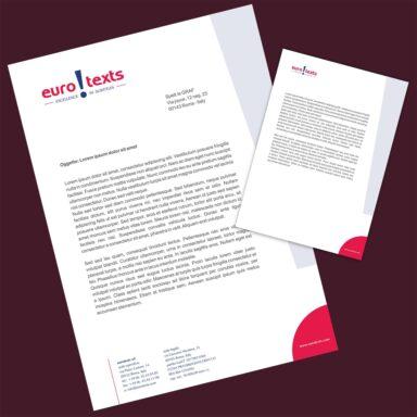 Carta intestata EuroTexts