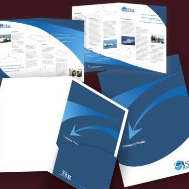 Cartellina e brochure istituzionale S3Log