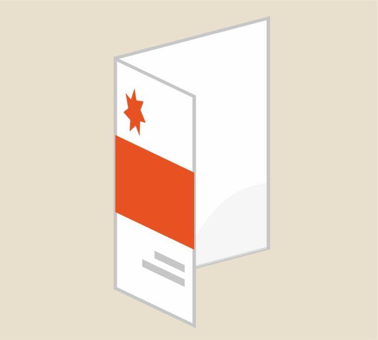 Progettazione e stampa cartelline porta documenti