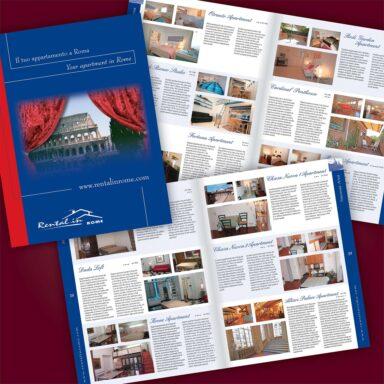Catalogo bilingue offerte appartamenti Rental in Rome