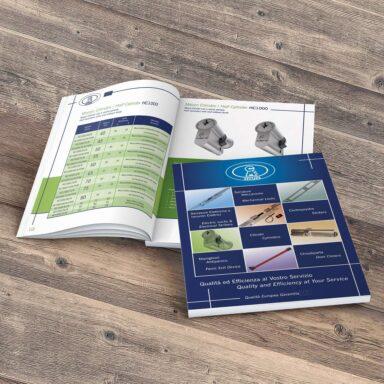 Catalogo bilingue prodotti di serramenta CMF Secure