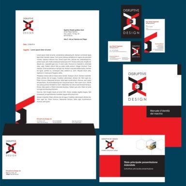 Immagine Coordinata Disruptive by Design
