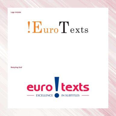 Restyling marchio EuroTexts, società di doppiaggio