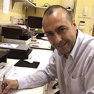 Fabrizio de Filippi, titolare di Graf Studio Grafico e Stampa Digitale