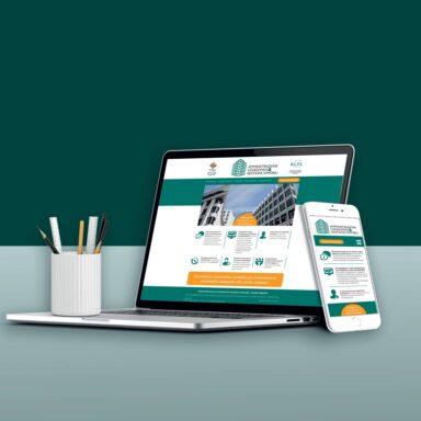 Sito web per Gestione Immobili con struttura e grafica personalizzata