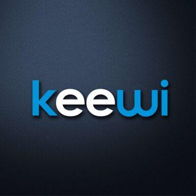 Marchio per società organizzatrice di eventi Keewi