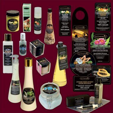 Packaging prodotti di bellezza