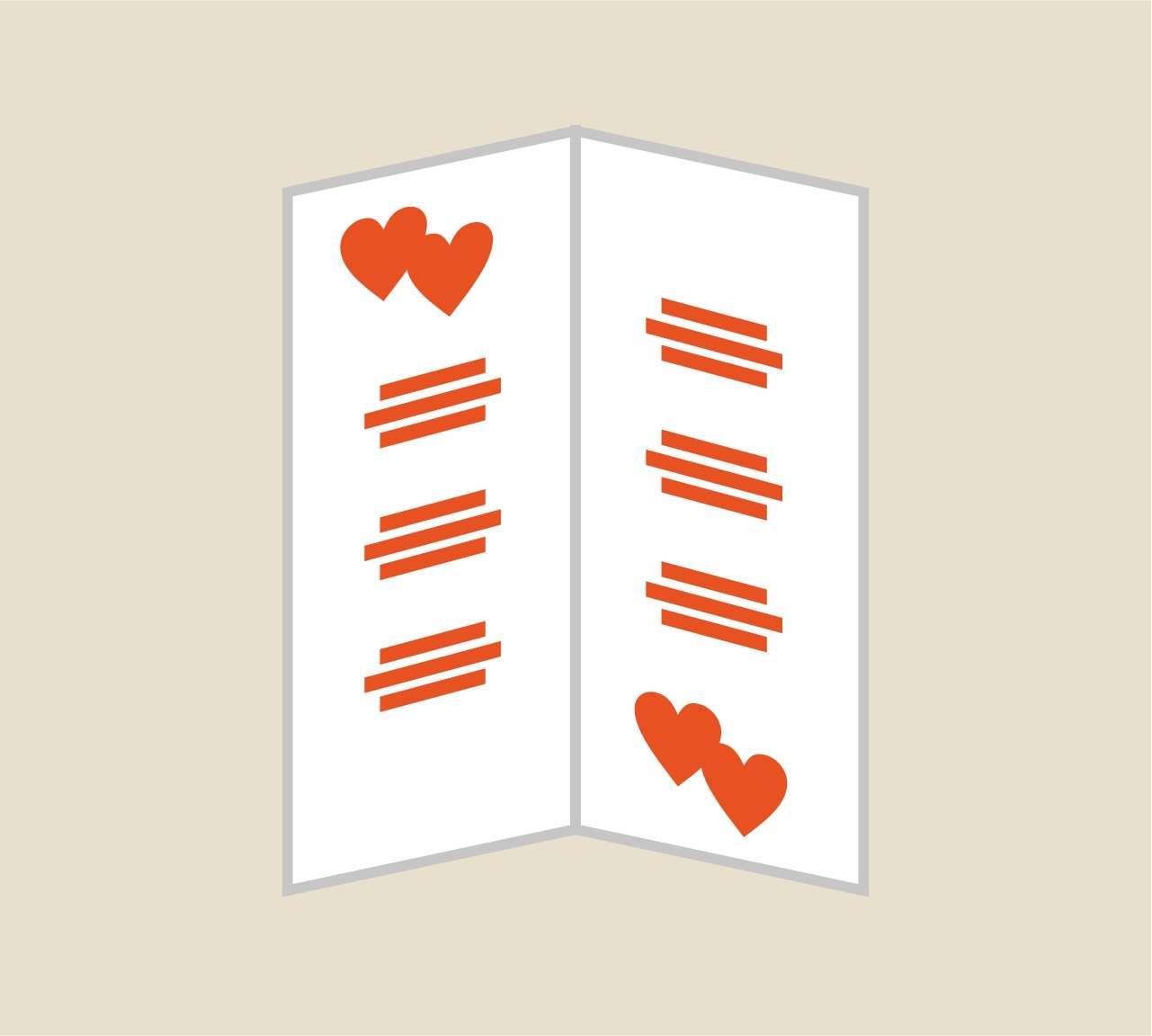 Realizzazione e stampa menu ristorante