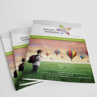 Brochure 4 pagine Percorsi Evolutivi