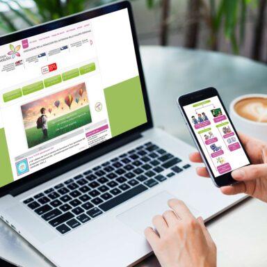 Sito web realizzato per l'Associazione Percorsi Evolutivi con struttura e grafica personalizzata