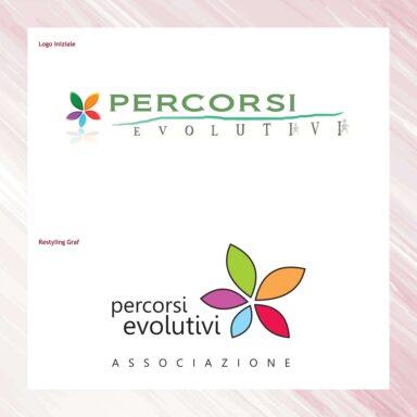Restyling marchio Associazione Percorsi Evolutivi