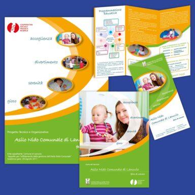 Immagine coordinata per prodotti promozionali dell'Associazione Prassi e Ricerca
