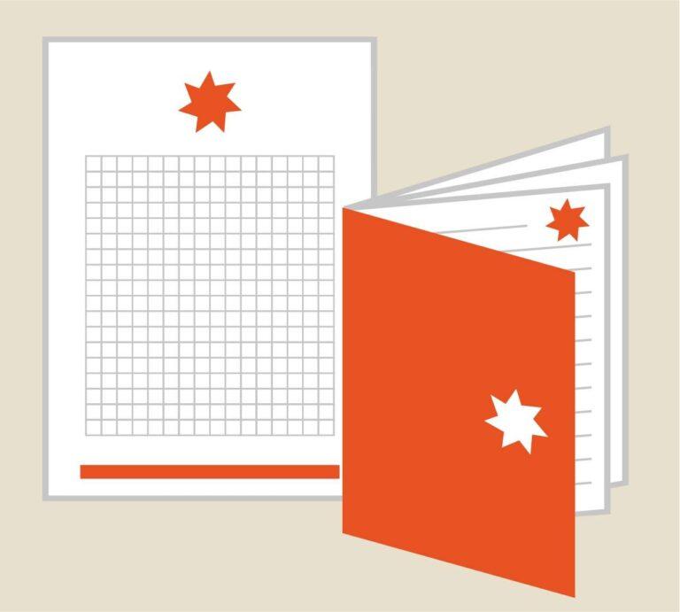 Progettazione e stampa quaderni e blocchi notes
