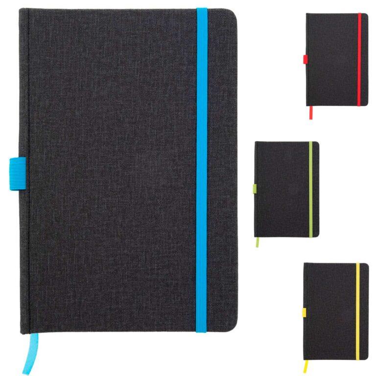Quaderno taccuino con elastico
