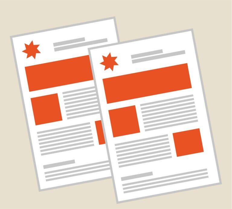 Realizzazione e stampa di schede prodotto