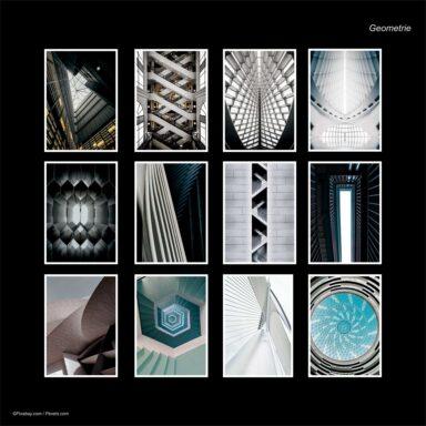 Calendario da muro A4: tema fotografico: Geometrie